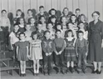 First Grade Class. Do you recognize any of these classmates?