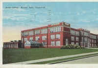 WFSH and Hardin Jr. College 1938