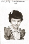 Leah Allen Van Driest, First Grade.  St. Paul Lutheran
