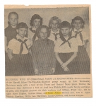 Blue Birds at Harrell Grade School.  Several from the Class od 1964.
